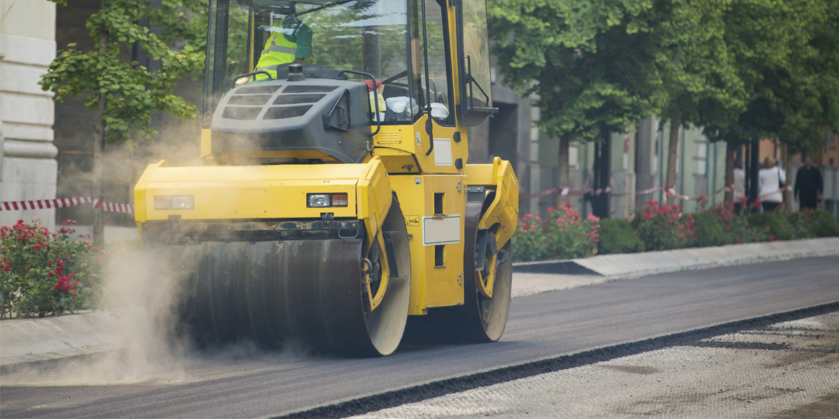 Falcon Surfacing Tarmac Roller Compactor